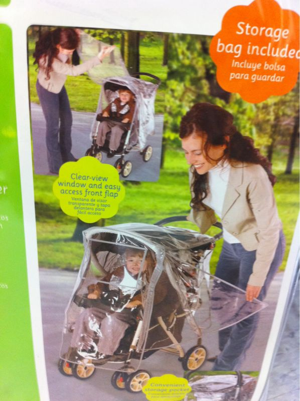 Everyone knows that babies are best when kept under plastic.
