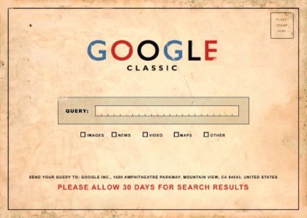 glasgow-effect: Google Classic Send your Query to: Google Inc. Amphitheatre Parkway Mountain View, CA 94043 Place Stamp Here…