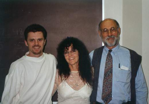 Dr. Pappas and I with the head of the Chemistry Department at    Indiana University South Bend   . We worked together on an Introduction to Aromatherapy course, which was landmarked as one of the first university credit course focusing on aromatherapy.