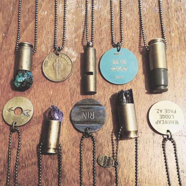 Beautiful jewelry handmade from repurposed metal and vintage hardware.