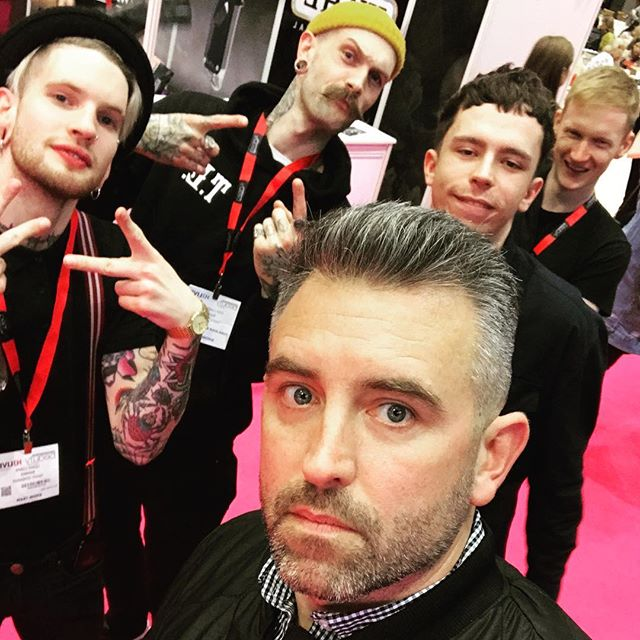 Sunday was an incredible day and couldn't be any more proud of my team at HJ live North in Manchester. @twentylewsavage is my longest serving member of staff and I've watched him grow from a boy into a talented and hugely skilled barber with all the potential in the world. For me, it was a no brainier to have him alongside me on stage for an opportunity like this. And then @dapperdanbrighton : He first came to me for a job back in 2013 and didn't pass his trade test. With honest feedback he went away and honed his skills and eventually came on board at the beginning of 2017 and has evolved into one of the most  determined workers I have seen. He has been up against it with previous places and has since flourished at Teddy's. He deserves everything he will get out of his career. And to our models for enduring a 10 hour round car trip, I can't thank you enough. @cairnsthebarber you're a star and want you up on stage in the near future! @lawrencejmusic for driving and putting up with us on the way back. @inversexpression you area real show stopper and without you on stage, we wasn't able to truly display what Teddy Edwards is all about. Final thank you to @simon.shaw17 and all the Team at @wahlprouk for the opportunity and to Charlotte at @hairdressersjournal and @hjmen for the slot on stage and your awesome hospitality. My head is buzzing with ideas for the next one........
