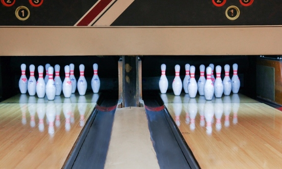 Sunset Bowling Lanes in San Marcos