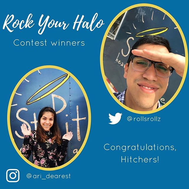 These two Hitchers are our #RockYourHalo winners! Click on the link in the bio to find out more!