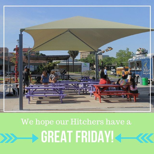 Happy Friday, Hitchers! Get a refreshing snack or drink to start of your weekend at #thehitchsm.
