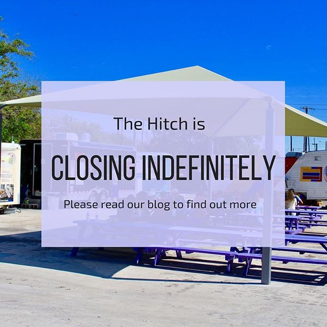 We are sad to say that The Hitch will be closing at the end of the year. Clink on the link in the bio to find out more about why The Hitch is closing. From everyone at The Hitch, thank you, Hitchers!