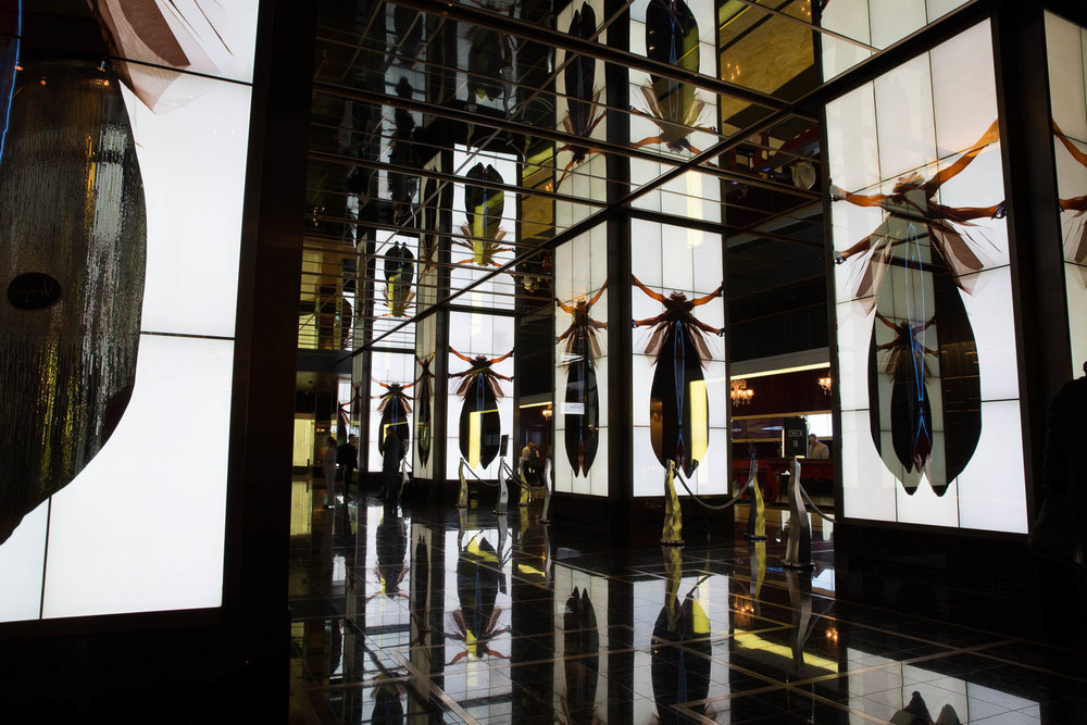 Mark Bashore Cosmopolitan Digital installation