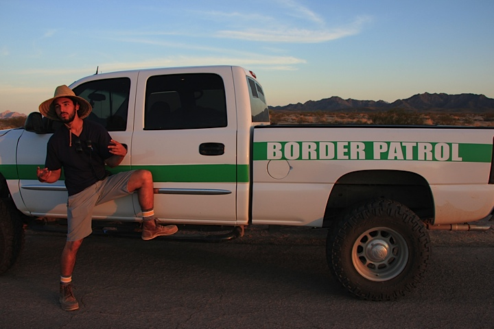 This is how you wrap a border patrol unit!