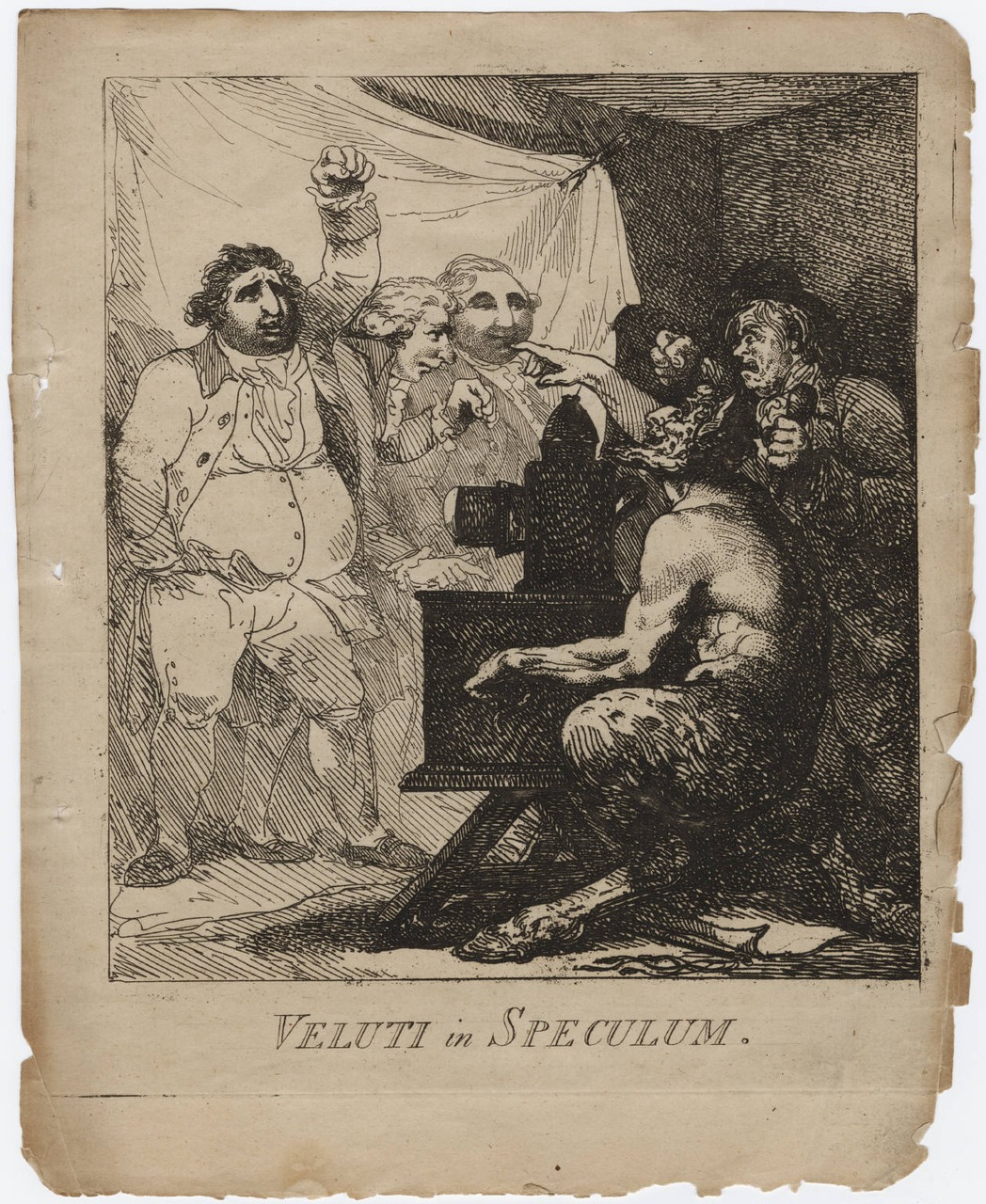 darksilenceinsuburbia :       A Plate from The Magic Lantern or Les Ombres Patriotiques
