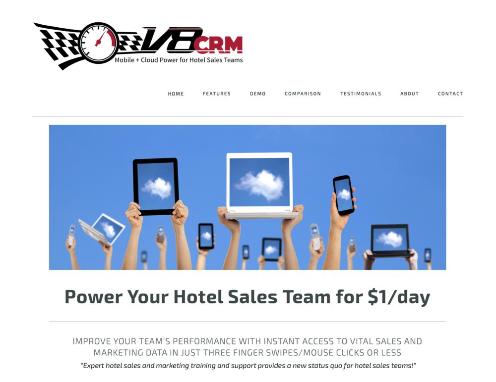 V8CRM Website