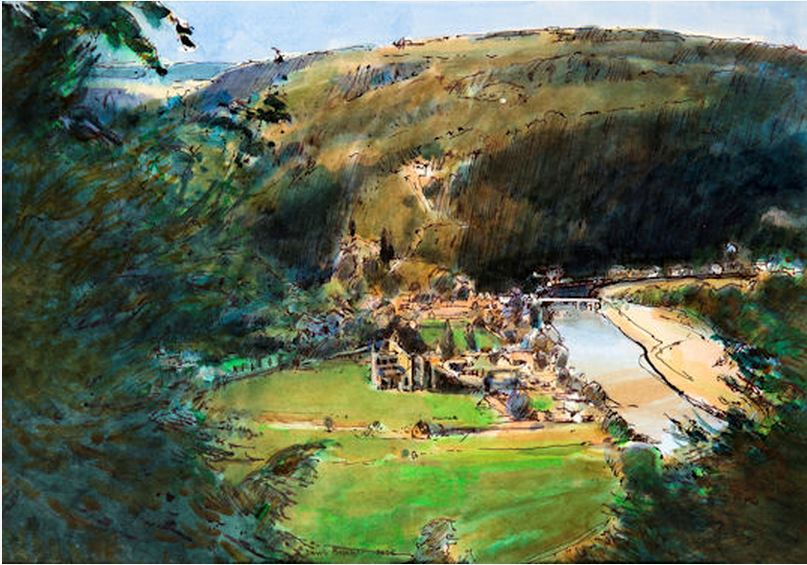 Tintern from the Devil's Pulpit