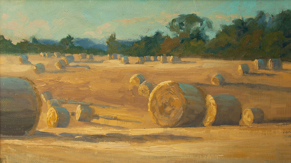 Golden bales