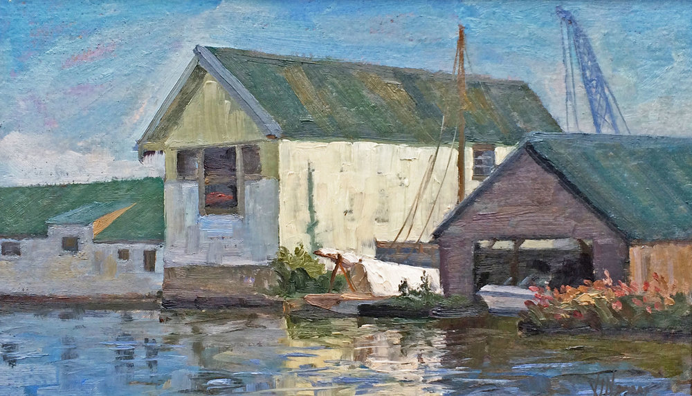 Boat Sheds at Potter Heigham
