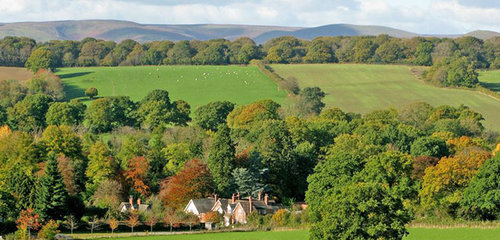 Westhope College in Shropshire, where we will be based