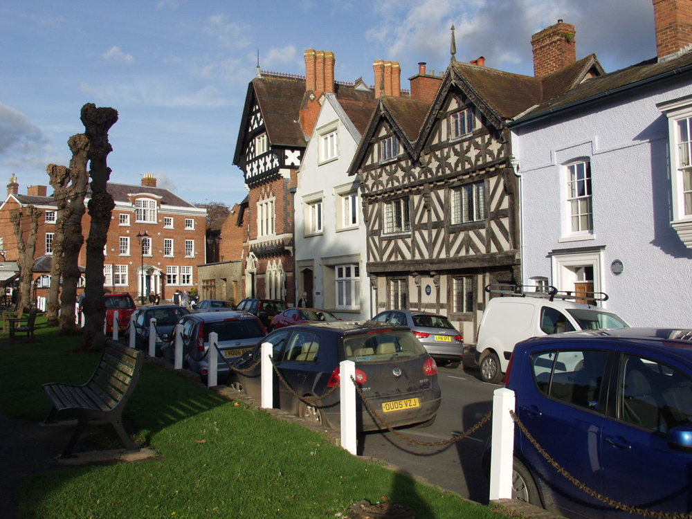 A rich variety of architecture provides inspiration in Ludlow