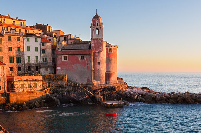 Tellaro, one of the Cinque Terra