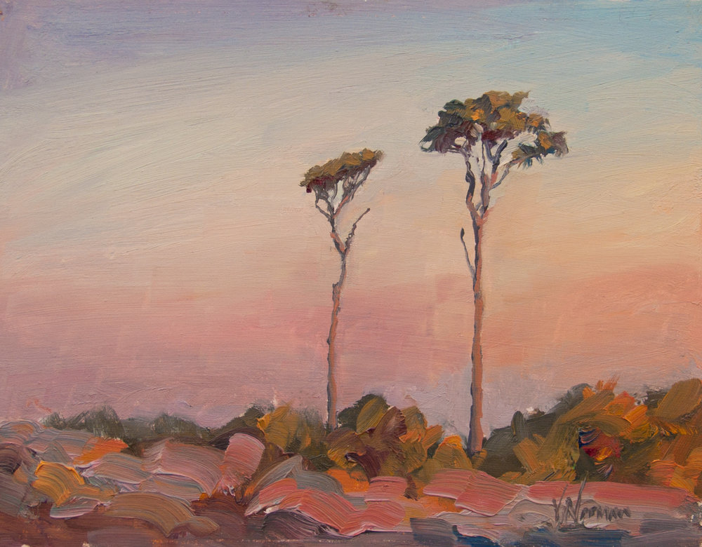 "My painting ""Love those Trees"" will be exhibited in the Royal Institute of Oil Painter's Annual Open Exhibition at The Mall Galleries from 29th November 2017"