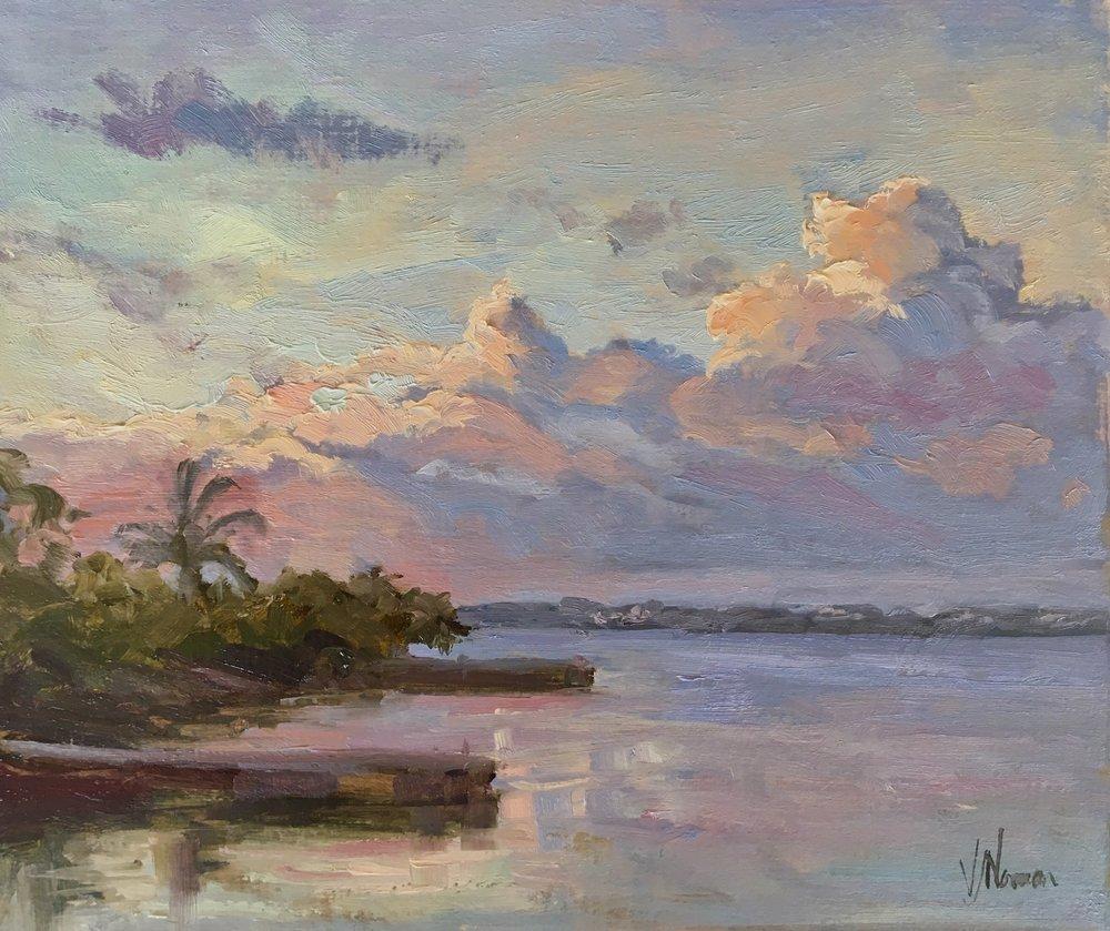 Daybreak from Linda's dock