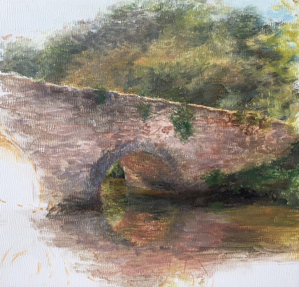 Le Pont, Argenton-Chateau, France