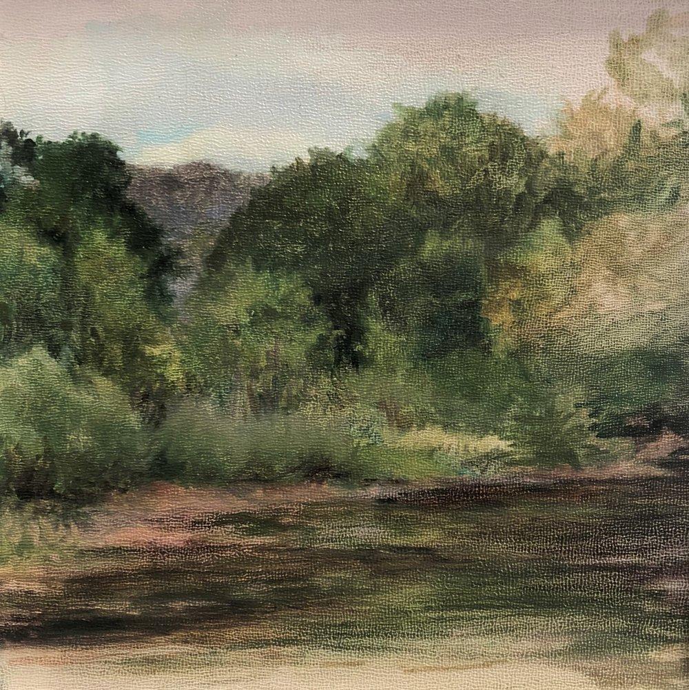 Pecos River in Summer