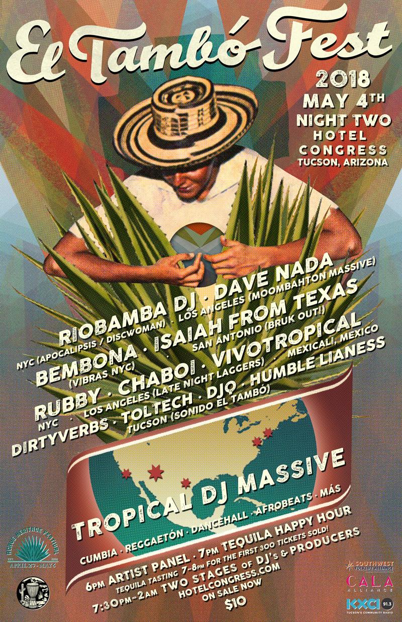 2018 El Tambó-Fest - Poster - Night Two - 800px.jpg