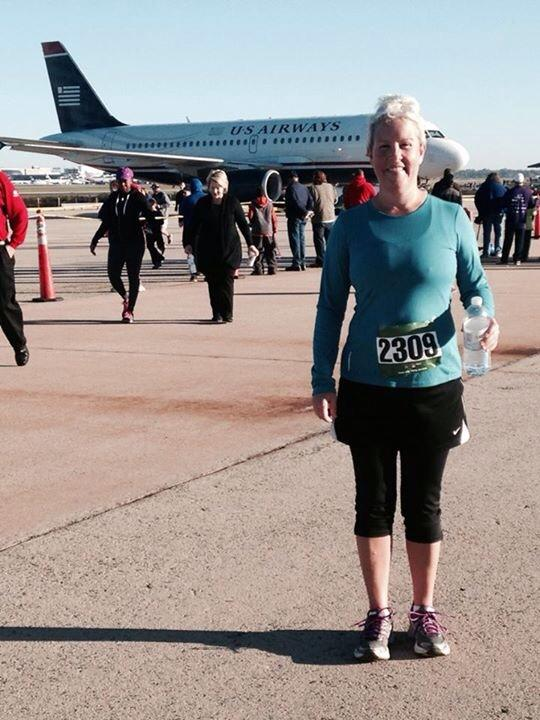 We are so proud of Lynn for completing her October Goal and running a 5K this past weekend! Strong work, Lynn!