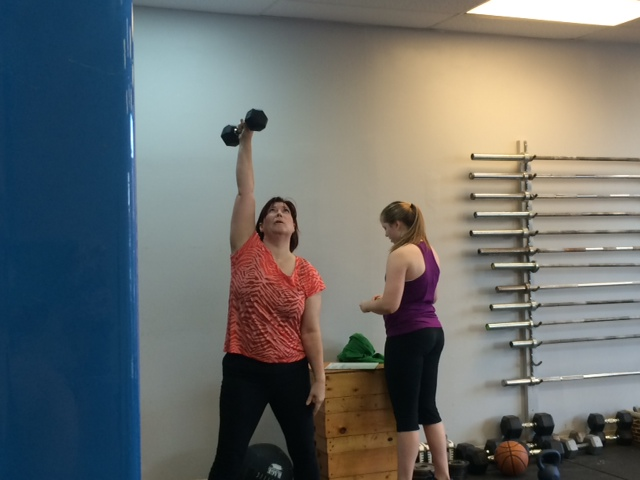 Colleen looking strong!