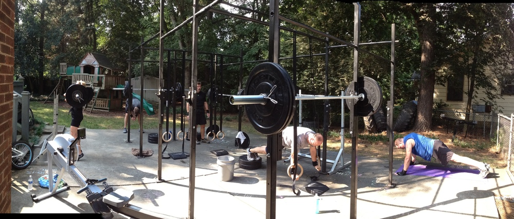 #TBT. No Name Box...before there was CrossFit Jane, we were the NNB!
