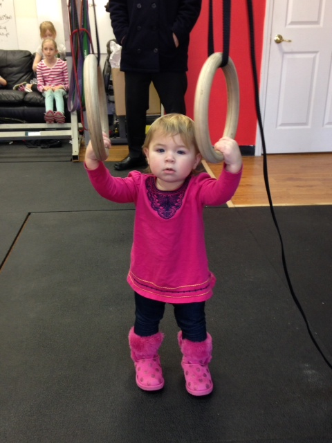 Muscle up Monday!