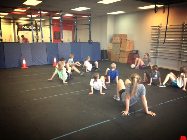 Crab Soccer at CFJ Kids.