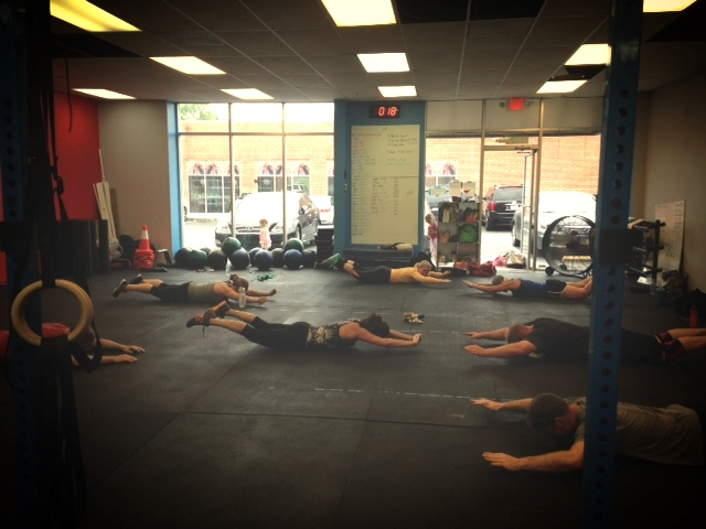 Tabata Arch Hold at 8 am.