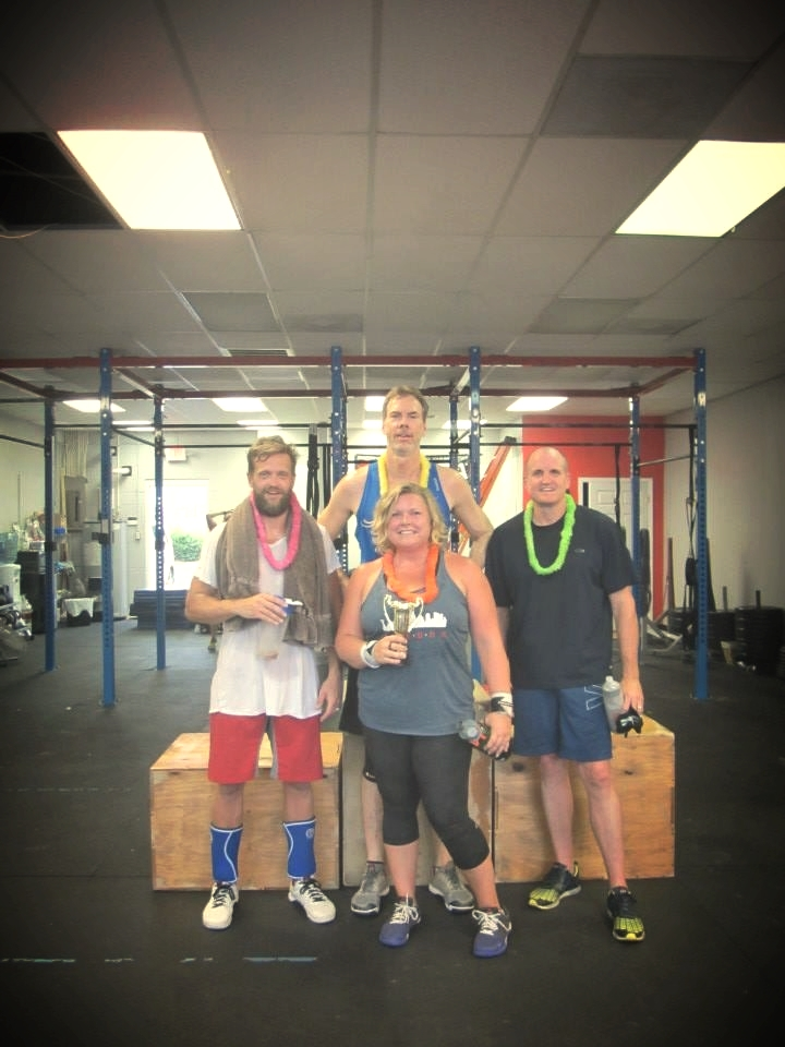Congrats to the winning team from the first Summer Throwdown.  Our next throwdown will be on Saturday, July 11.