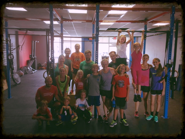 CrossFit Kids and Parent Class.