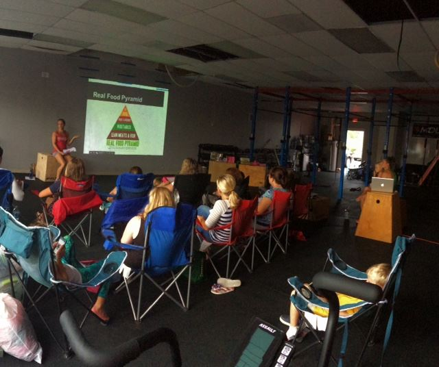 We had a great turnout for the Nutrition Workshop. Stay tuned for details of the upcoming October Challenge.