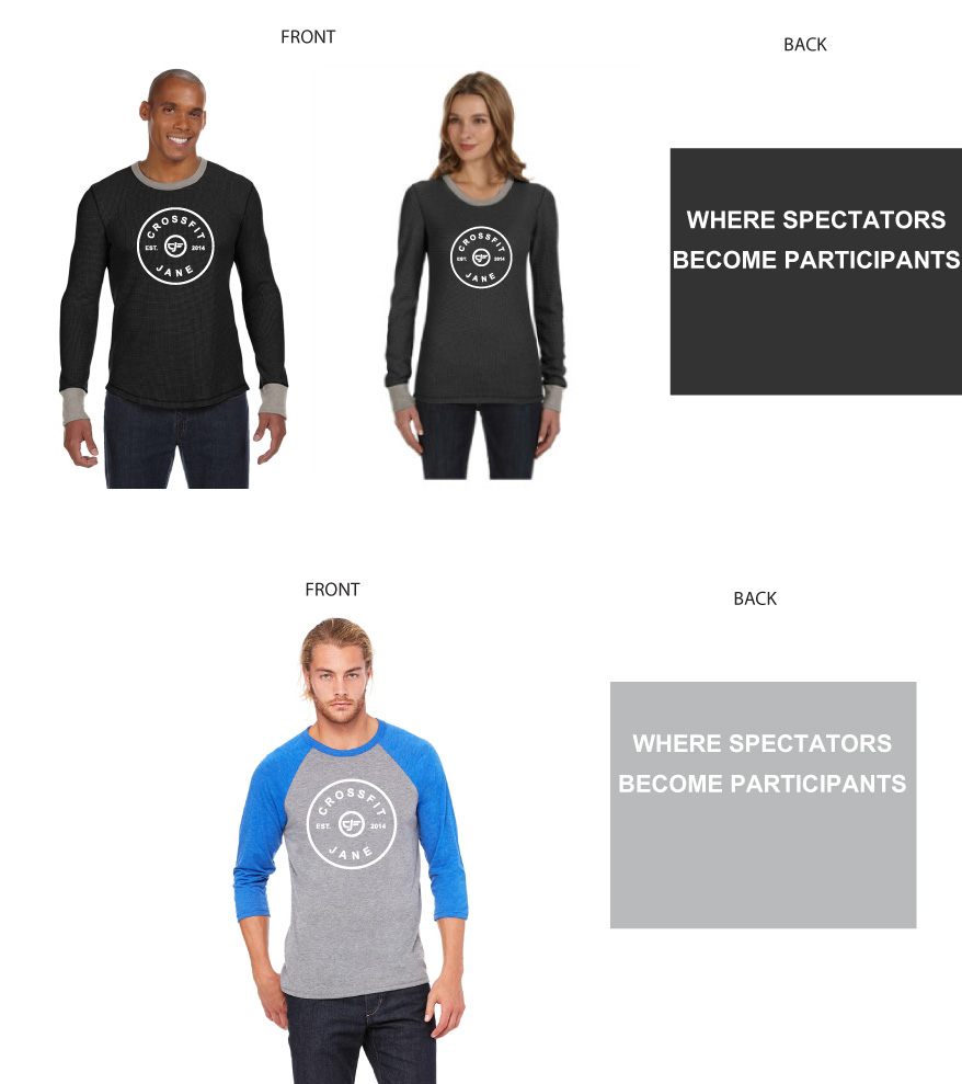 New CFJ Gear orders are due by noon on Friday, October 8.