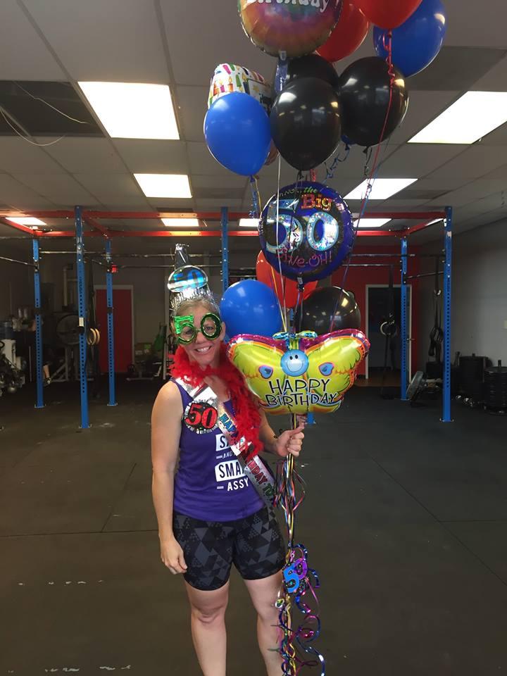 Celebrating Fitness at 50! Happy Birthday, Joni!