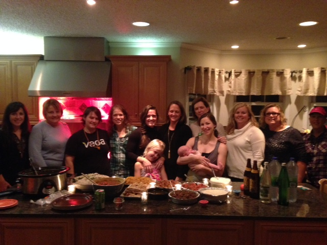 CFJ Indian Box Thanksgiving! We had a wonderful evening of GOOD food and friendship.