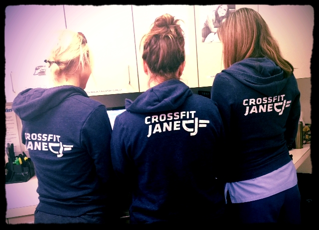 Looks like CFJ hoodies are now the official uniform of Team CVMH!
