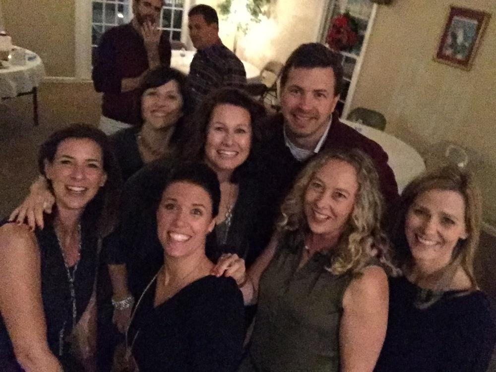 CFJ Christmas Party selfie stick adventures.