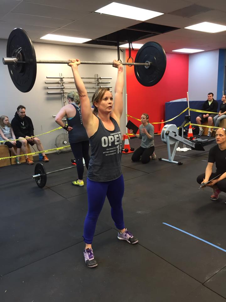Claire looking strong in her first CFJ Open in 2015.