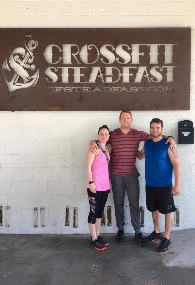 Shaunica dropping in at CrossFit Steadfast in Savannah over the weekend.