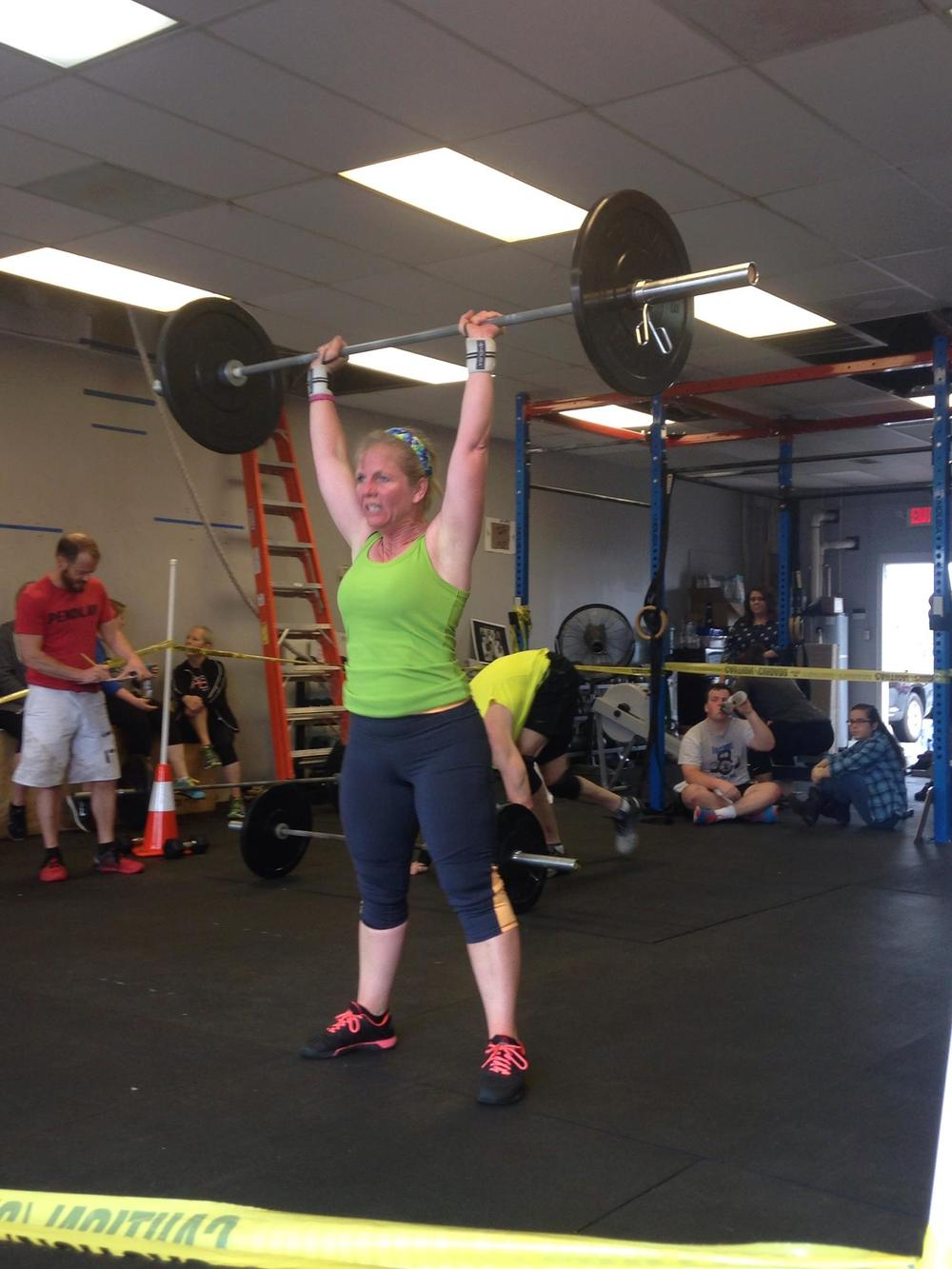 Celebrating life at 50 and showing no sign of slowing down!Joni crushed 16.5 for a strong Open this year.