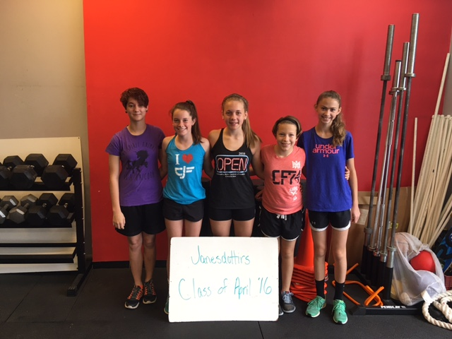 Congratulations to our Janesdottirs! They graduated from Fundamentals this weekend!