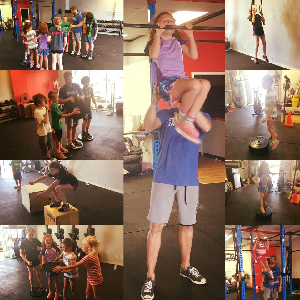 CrossFit Kids in action!