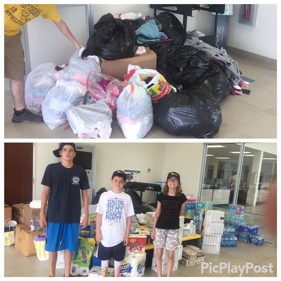 Nathan Stewart, owner of CrossFit Indian Trail, delivered all the donations to West Virginia on Sunday. Thanks to all who contributed!