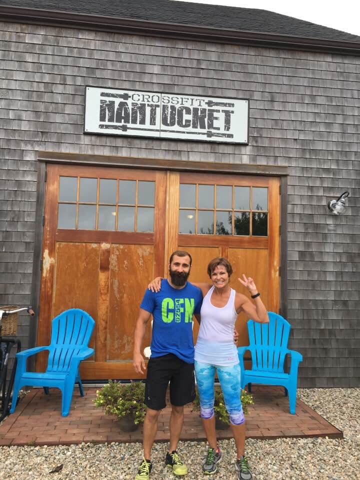 Mickie visited CrossFit Nantucket!