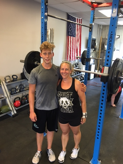 Nick left for Appalachian State this week. He has already hit up numerous WODs at CrossFit Postal. We miss you already! Don't be a stranger.