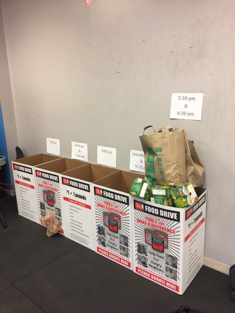 Don't forget to bring donations for the CFJ Cares Canned Food Drive.