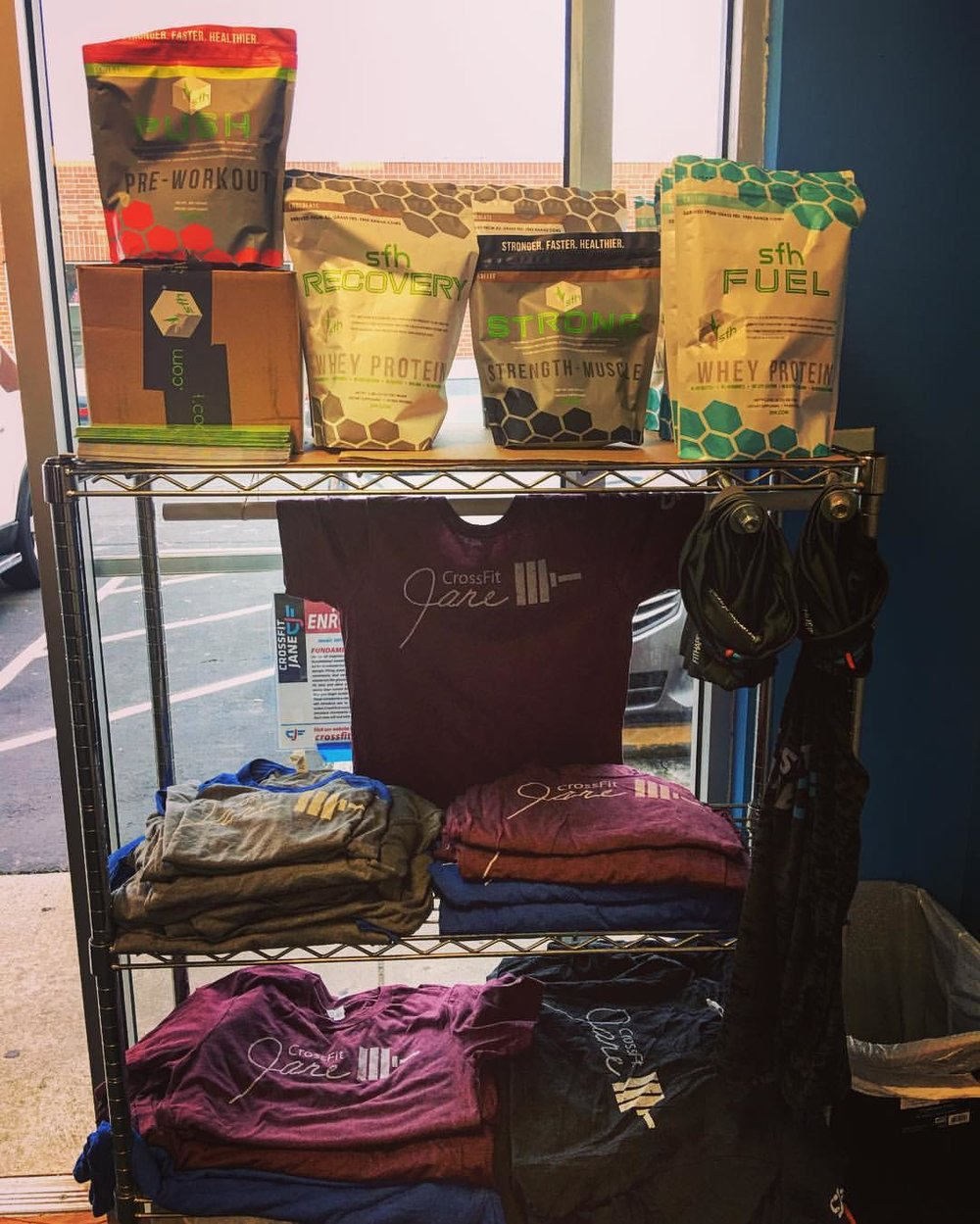 Did you miss the order deadline? Good news! We have shirts, baseball tees and tanks in stock. We are also fully stocked with SFH products, including fish oil.