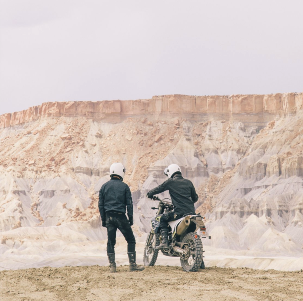 David + Andrew - Cafe racers of Instagram
