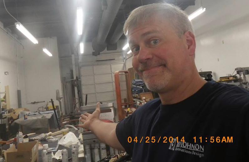 Hi, I'm Jeff Johnson.  Welcome to my workshop in Raleigh NC!
